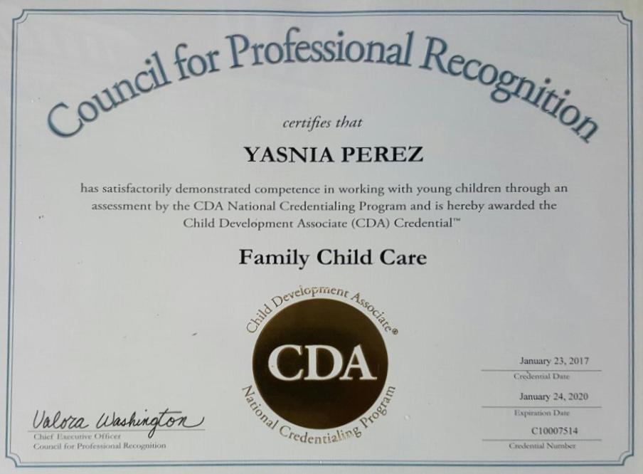 cda certificate copy credential trust thank